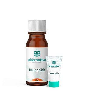 Kit ImuneKids 60g + Creme Hidratante e Protetor para os Lábios 10g
