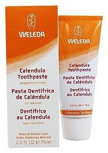 Pasta Dental de Calêndula Sem Mentol - Weleda 75mL