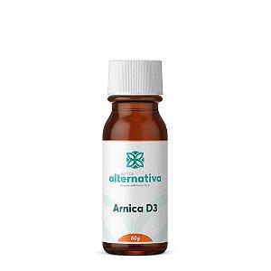 Arnica D3 glóbulos 60g
