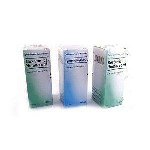 Kit Detox Heel com Berberis + Lymphomyosot + Nux Vomica 30mL