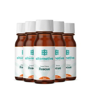 Kit 5 frascos de Rescue Dose Única 15mL