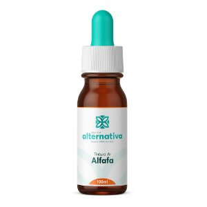 Tintura de Alfafa 100 mL - Aumenta o Leite Materno