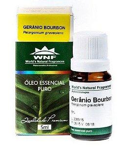Óleo Essencial Orgânico de Gerânio Brasil WNF 5mL