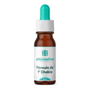 Floral de Minas Fórmula do 1ºChakra - 30mL