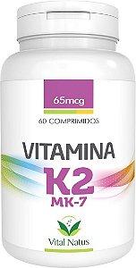 Vitamina K2 MK-7 65mcg 60caps / Vital Natus