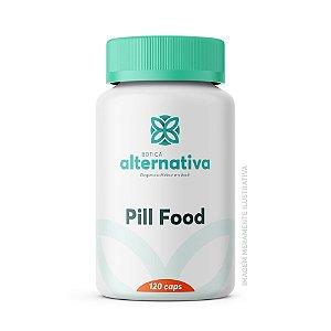 Pill Food 120 cápsulas - Beleza para Cabelo, Pele e Unhas
