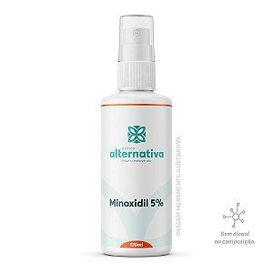 Minoxidil 5% Spray 120mL Sem álcool - Cabelo e Barba