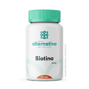 Biotina 5mg 30 Cápsulas Vegetais