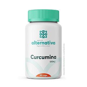 Curcumina (Curcuma longa) 100mg 60 Cápsulas Vegetais