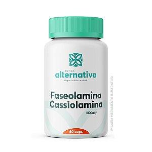 Faseolamina 500mg + Cassiolamina 500mg 60 Cápsulas Vegetais