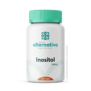 Inositol 500mg 120 Cápsulas Vegetais
