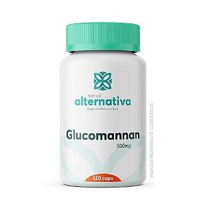 Glucomannan 500mg 120 Cápsulas Vegetais