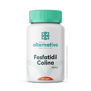 Fosfatidil Colina 300mg 60 Cápsulas Vegetais
