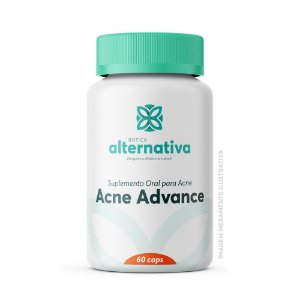 Acne Advance - Suplemento Oral para Acne 60 Cápsulas Vegetais