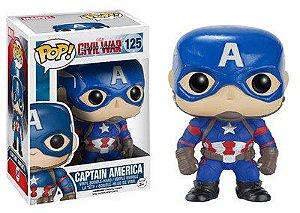 Funko Pop! Marvel - Capitão América Guerra Civil