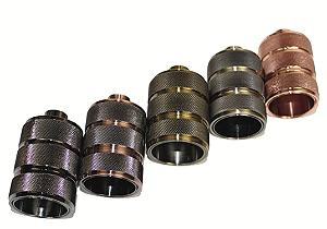 Soquete de Ceramica com acabamento em Alumínio /E27