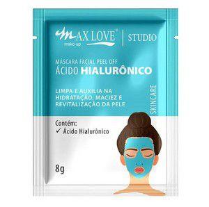 Mascara Facial Peel Of Acido HIaluronico Max love Sache - Unitário