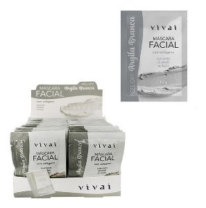 Máscara Facial Argila Branca