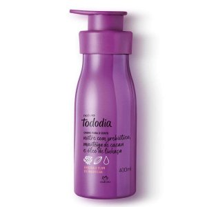 Creme Desodorante Nutritivo Para o Corpo Ameixa e Flor de Baunilha TODODIA