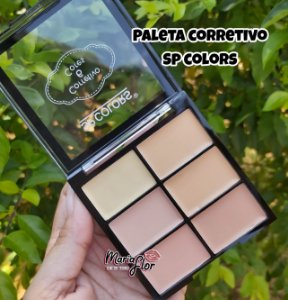 Paleta de 6 Corretivos SP Colors