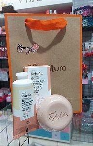 Kit Creme Desodorante Nutritivo para as Mãos Noz Pecã e Cacau + sabonete