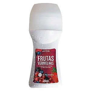 Desodorante Antitranspirante Roll-On Frutas Vermelhas - 50 ml