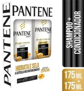 Kit Pantene Shampoo + Condicionador 175ml Hidro-Cauterização