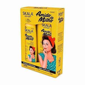 Kit Shampoo e Condicionador Amido de Milho Skala Expert Com 325Ml