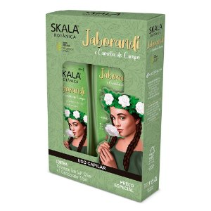 Kit Jaborandi Condicionador + Shampoo + Creme de Tratamento