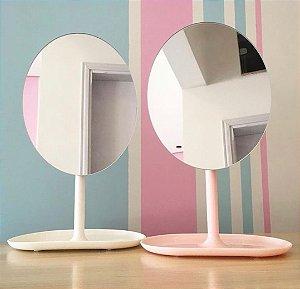 Espelho de Mesa Oval Giratório Portátil