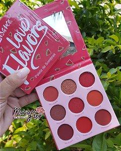 Paleta Sombra Love Flavors Luisance Maquiagem Melancia