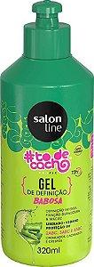 Gel de Babosa #Tô de Cacho - Tratamento Para Divar Liberado, 320 Ml, Salon LineGel