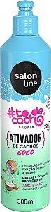 Ativador de Cachos #todecacho Coco Salon Line 300ml