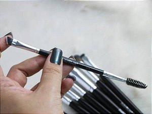 A14 – Pincel Profissional Duplo Escova e Chanfrado Macrilan – Linha Max