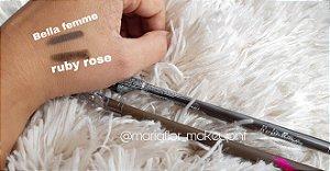 Lápis comum para sobrancelha Ruby Rose Bella femme