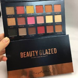 Paleta de sombra Beauty Glazed Rose gold edition