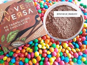 Po translúcido chocolate vegano