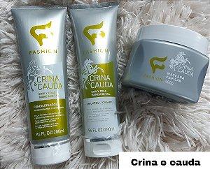 Kit shampoo+condicionador+ Máscara Crina e cauda