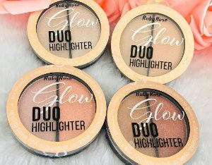 O Iluminador Glow Duo Highlighter