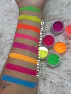 Pigmento neon unitários