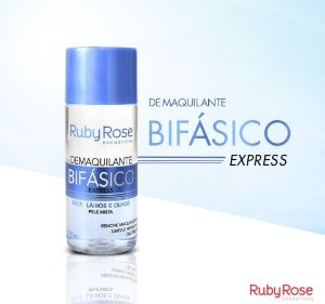 Demaquilante Bifásico Ruby Rose Express
