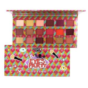 PALETA 18 CORES DE SOMBRAS EYES PARTY - MYLIFE