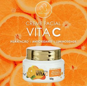 Creme Facial Vitamina C - Belle Angel