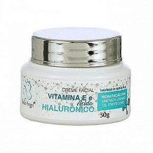 Creme Facial Com Acido Hialurônico E Vitamina E - Belle Angel