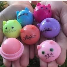 Lip Balm Hidratante Gatinho Sabor De Frutas Mylife Teen