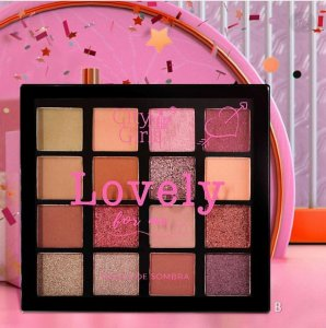 Paleta De Sombras Lovely For Me City Girls B