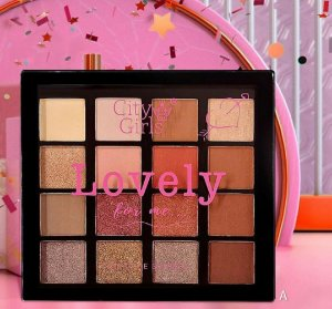 Paleta De Sombras Lovely For Me City Girls A