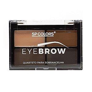 Sombra para Sobrancelha + Primer Eyebrow SP Colors