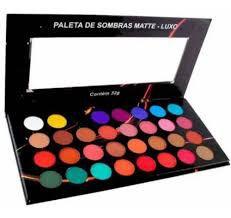 Paletas De Sombras Matte Luxo Ludurana 32 Cores