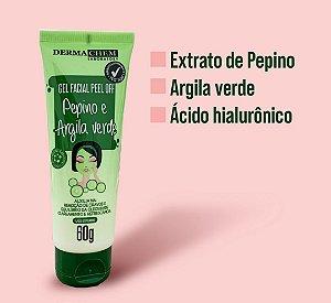 Gel Facial Peel Off  Pepino e Argila Verde